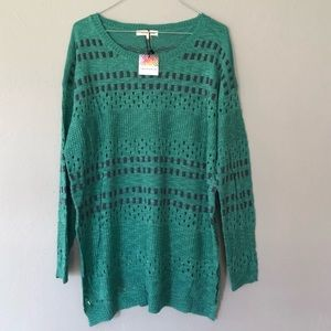 Threadzwear Open Knit Sweater